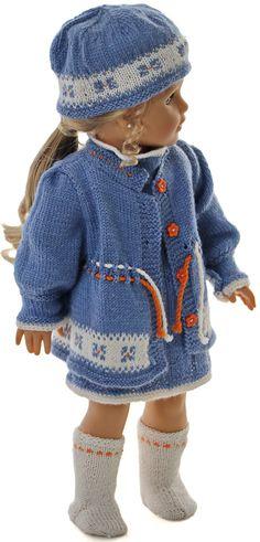 Gebreide poppenkleertjes - Uw pop zal er super uitzien in deze lieflijke kleding