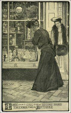 Elizabeth Shippen Green  1871 ~ 1954  Illustrations for Harper's Magazine  1902 ~ 1912
