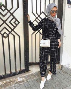 Nice fashion styles hijab в 2019 г. hijab fashion, fashion и hijab chic. Modern Hijab Fashion, Street Hijab Fashion, Hijab Fashion Inspiration, Islamic Fashion, Muslim Fashion, Modest Fashion, Style Inspiration, Eid Outfits, Modest Outfits