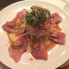 Sushi Yuzu - Albacore sashimi! - Toluca Lake, CA, United States