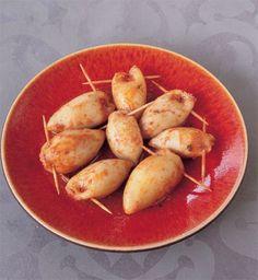 Moroccan stuffed squid (calamari) recipe #morocco #recipe #food #fish #dinner Calamari Recipes, Squid Recipes, Eastern Cuisine, Fish Dinner, Tasty, Yummy Food, Arabic Food, World Recipes, Morocco