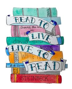 live to read read to live