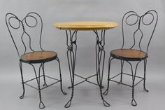 ice cream parlor chairs - Google Search