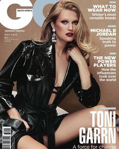 Toni Garrn for GQ South Africa - May 2018