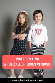 Are you looking to start an online children boutique or kids store? Get the best, trendy wholesale vendors for babies, infants, kids and pre-teens in this wholesale vendor list. Top-ranked vendor list on google and access to over 30+ vendors. #whollesale #wholesalevendors #childrenfashion #kidsfashion #wholesalechildrenvendors #wholesalevendorsforkids #fashion #kidstyle #fashionablekids #onlineboutique #boutique Wholesale Baby Clothes, Wholesale Clothing, Wholesale Companies, Children's Boutique, Kids Store, Kid Styles, Wholesale Fashion, Infants, Online Boutiques