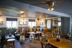 The Stag and Hounds Farnham Common. Design by Tibbatts Abel