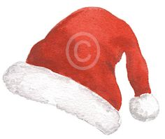 Christmas Messages, Christmas Images, Online Message, Santa Hat, Little Gifts, Watercolor Paper, Gift Tags, Winter Hats, Social Media