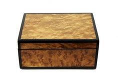 Lacquered Burlwood Box