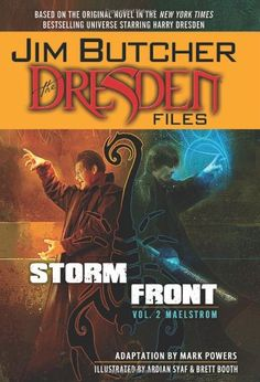 Jim Butcher's The Dresden Files: Storm Front.. haven't heard of it well give it a shot