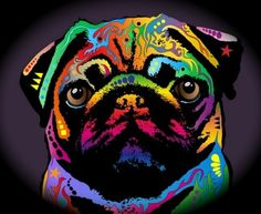 Pug Art                                                       … …
