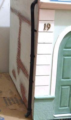 how to: exterior rain spout