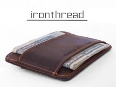 IRONTHREAD: The American Slim Wallet - Made in USA