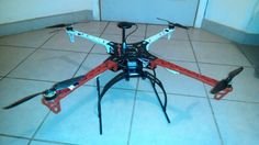 My first quadcopter!