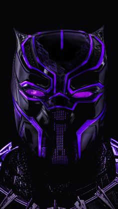 Black panther, superhero, dark, glowing mask, wallpaper - Best of Wallpapers for Andriod and ios