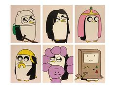 Image result for gunter adventure time painted pumpkin