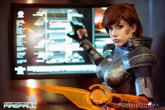 Commander Shepard by *crystalcosfx on deviantART