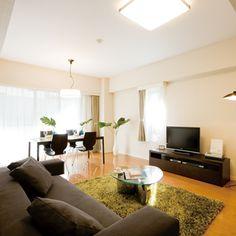 理想のくつろぎスペース!2人暮らしの部屋のインテリアコーデ。
