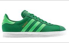 adidas Gazelle 2.0 Fairway/Green Zest    *sssssweet!