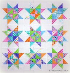 Doodlebugs and Rosebuds Quilts: Another Baby Quilt