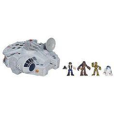 Playskool Heroes Star Wars Jedi Force Millennium Falcon Play Set