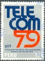 SELLOS de PERU - 1979