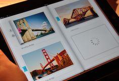 Inside Photo album - iPad - UI/UX/iOS http://dribbble.com/shots/510911-Inside-Photo-album-iPad-UI-UX-iOS