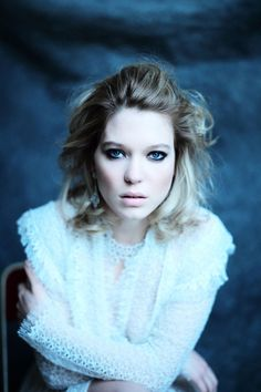 Lea Seydoux by Mathieu César for Madame Figaro, may 2015