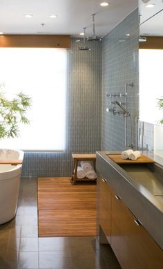 Beautiful Spa Bathroom