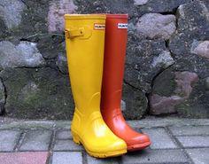 Kalosze Hunter dla ODWAŻNYCH. Original Hunter boots pair for brave ones.