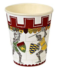 Take a look at this Brave Knights Party Cup - Set of 24 by Meri Meri on #zulily today!