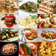 This is all Italian food which is both Ivy and Tristans favorite food.