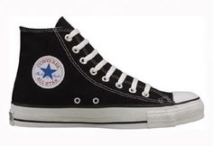 60bbdfb75da3 Amazon.com  Converse Chuck Taylor All Star Hi Top Black Canvas Shoes with  Extra