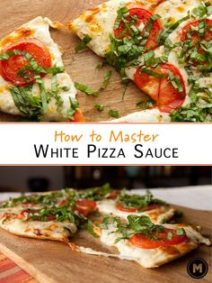 Anybody can slap some tomato sauce on a pie and call it a day, but a real homemade pizza expert can nail the white sauce. It's totally worth it oh... and not actually that hard.