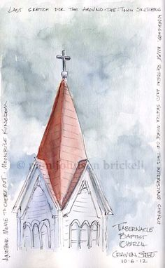 South Carolina Low Country Nature Journaling and Art: A Bit of Architecture