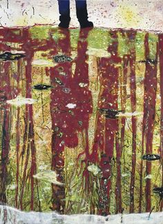 Reflection (What does your soul look like?) Peter Doig (b.1959) 1996 oil on canvas, 274.5 x 200.5 cm private collection