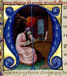 Bibbia Borso d'Este, XV sec., part.