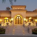 Mediterranean Exterior Single Story Villa Design, Pictures, Remodel, Decor and Ideas - page 3
