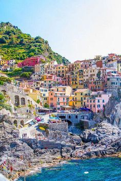 Manarola, Italy - Incredible Honeymoon Destinations You Haven't Thought Of - Photos