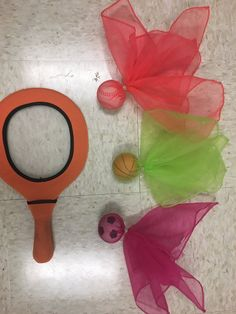 Badminton birdie #physed hack for young students.