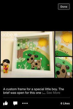 Felt dog box frame