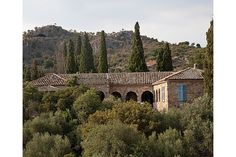 """Villa of Patrick Leigh Fermor, one of Britain's greatest travel writers. """"Paddy Fermor"""" played a prominent role in the Cretan resistance, during World War II"""