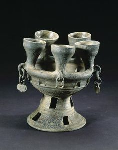 Oil Lamp. Korea. Ancient Kingdom of Silla ca. 400-600 AD. Asian Art Museum Online Collection
