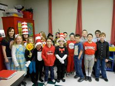 Book character costume day. Always a hit.