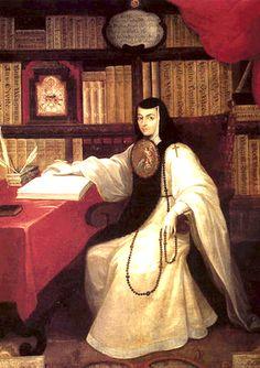Sor Juana Inés de la Cruz, México.