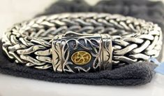 Scott Kay men's doberman bracelet. #swag