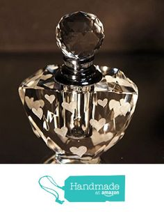 68 Delightful Perfume Bottles Images Hand Engraving Crystal