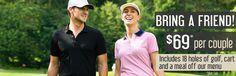 Golf Specials, Menu Online, Rolling Meadows, Bring A Friend, Golf Videos, Golf Outfit, Books Online, Cart, Bring It On
