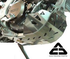 Yamaha WR450F 2007 Engine Guard — Skid Plate WR 450 F Bash Bashplate Sabot — ACD | eBay