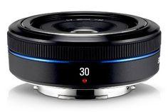 Samsung 30mm NX Pancake lens for NX Series Cameras, http://www.amazon.com/dp/B003FWLGIK/ref=cm_sw_r_pi_awdm_A6tatb0X9RYR7