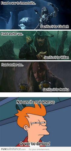 Good guy Jack Sparrow